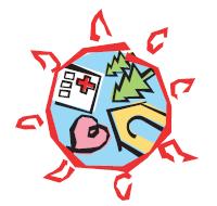 太陽の村のロゴマーク